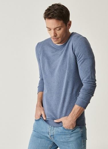 AC&Co / Altınyıldız Classics Sweatshirt Mavi